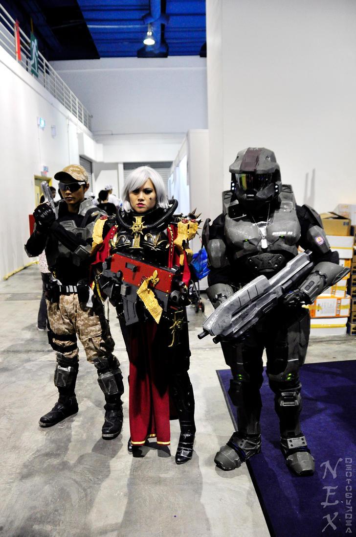 W40k meets Halo by jnalye