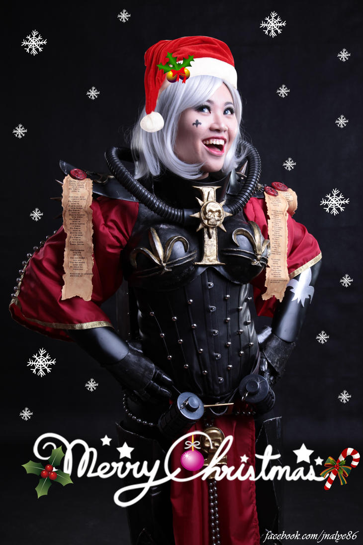 Merry Emperormas from a Sororita by jnalye