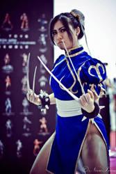 X-23 Chun-Li cosplay by jnalye