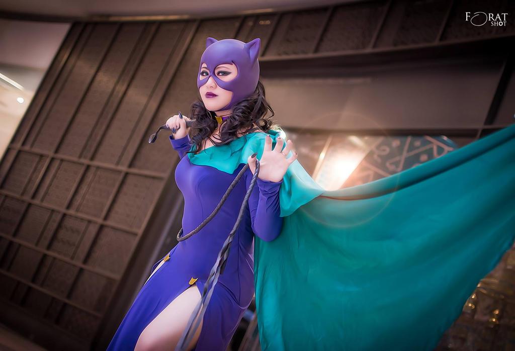 Classic Catwoman by jnalye