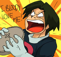 I Bloody Love Pie by Muxlowe