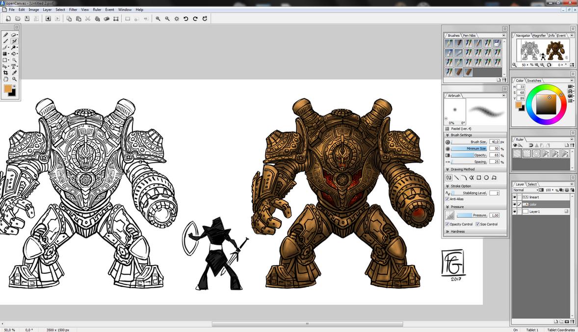 Elder Scrolls Online: Morrowind Dwemer Colossus by fgesn