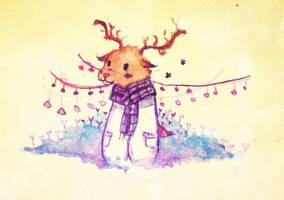 Reindeer by MinaZero