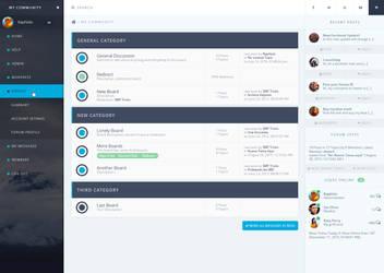 Forum Theme - Dashboard Style