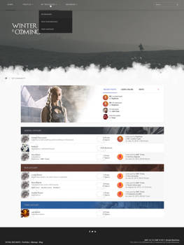 Winter is coming - SMF Theme