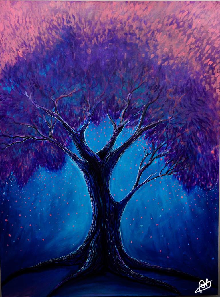 Spring Tree by Bexara