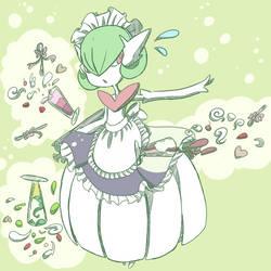 Mega Gardevoir Maid by Juni212