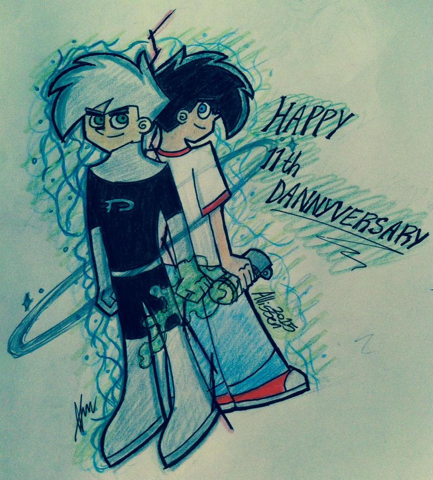 Happy 11th Dannyversary by allissen