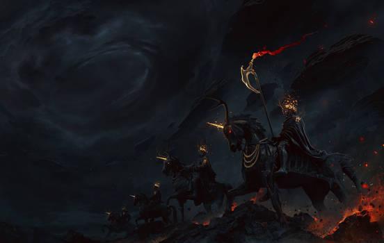 The horsemen of the Apocalypse