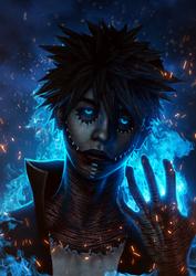 Dabi - Boku No Hero Academia by itsbxd