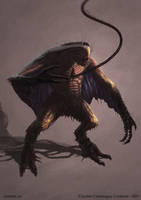 Dharkhanian - Creature Concept by Cloister