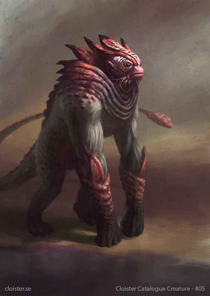 Ra'Khuni - creature concept by Cloister