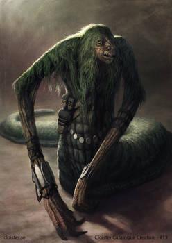 Nemunn - creature concept