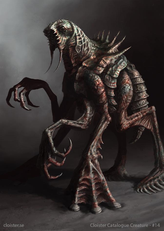 Calmorock - Creature Concept by Cloister