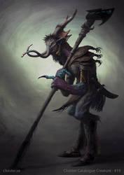 Vornorion - creature concept by Cloister