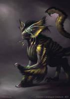 Thelossian - creature concept