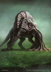 Mingossi - creature concept by Cloister