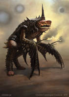 Gendrohka - creature concept by Cloister