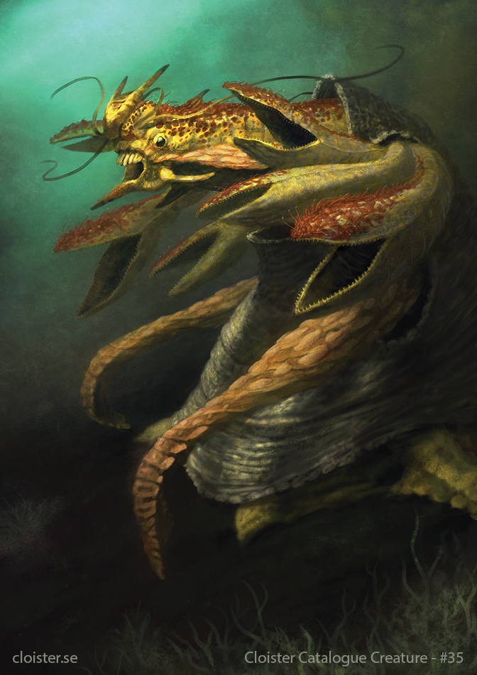 Ghord - creature concept by Cloister