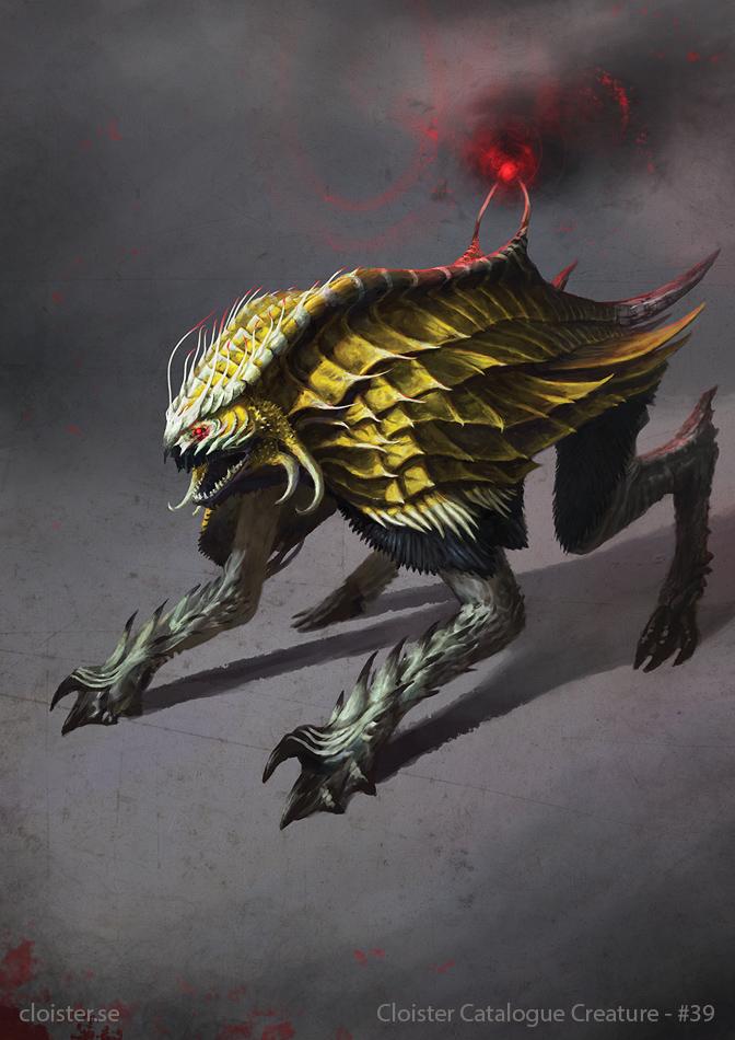 Darratha - ex-demon concept by Cloister on DeviantArt