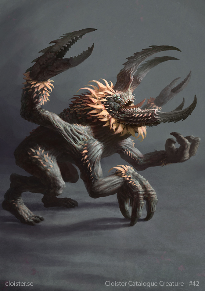 Sarranath - creature concept by Cloister