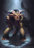 He-Narath - creature concept by Cloister