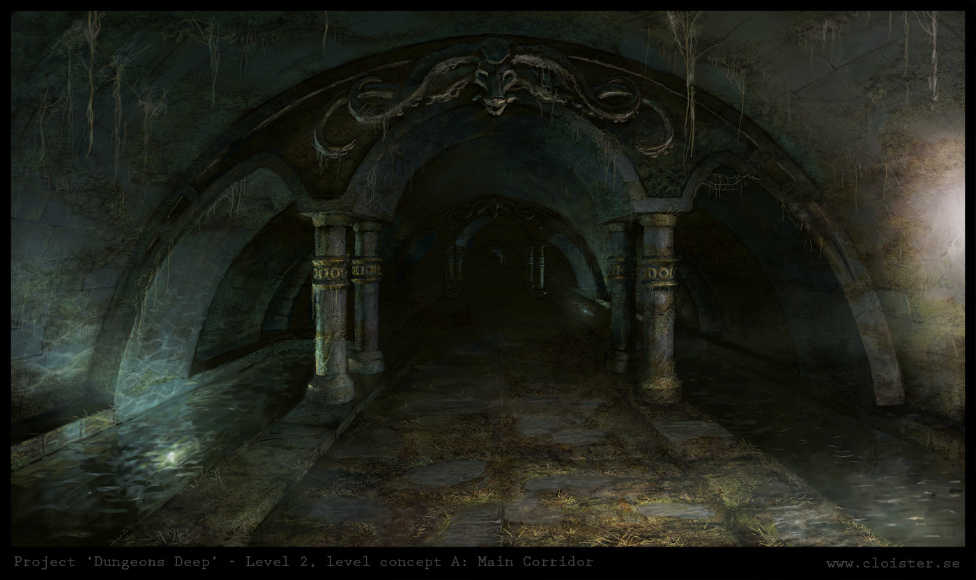 Kun Lun - (China) - Página 6 Dungeon_level_2___level_concept_a__main_corridor_by_cloister-d4ngitg