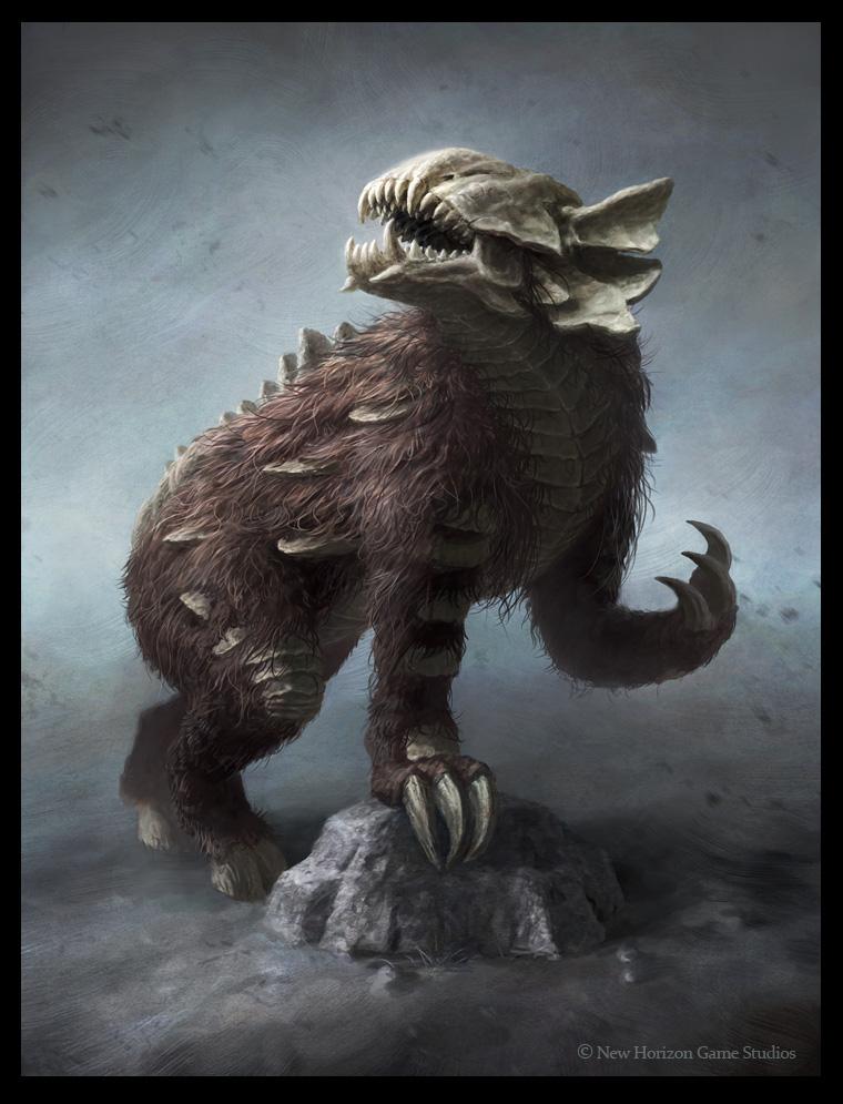 Grim Stalker - creature art by Cloister