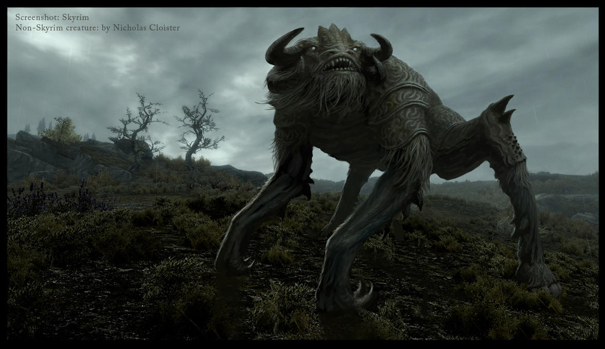 New Skyrim creatures? by Cloister