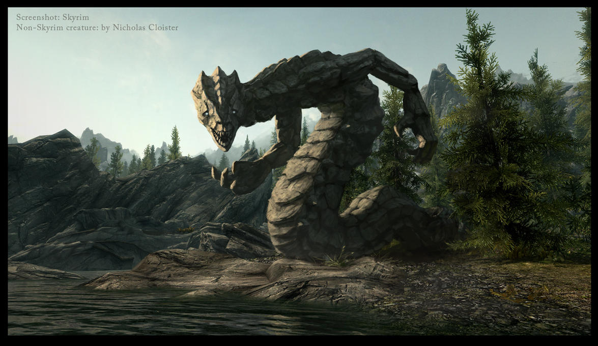 New Skyrim creatures? nr 2 by Cloister