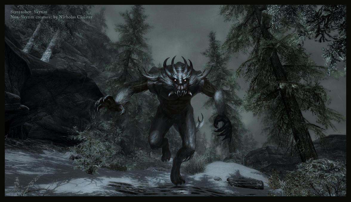New skyrim creatures nr 3 by cloister