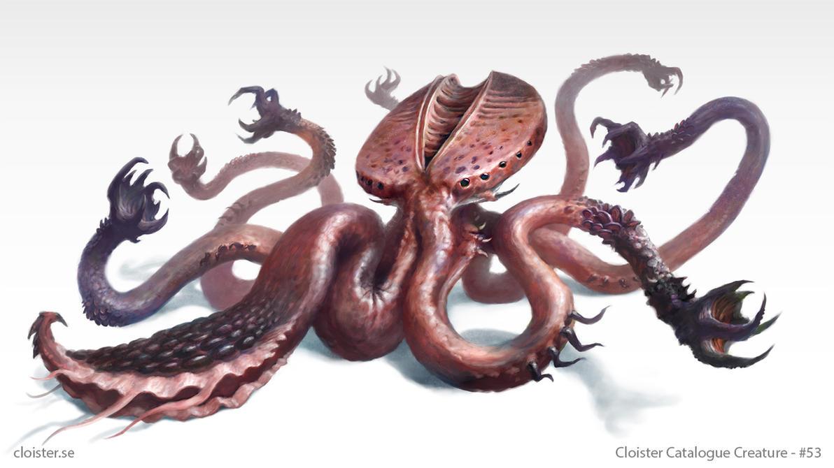 Agi-Septhoron - creature concept by Cloister