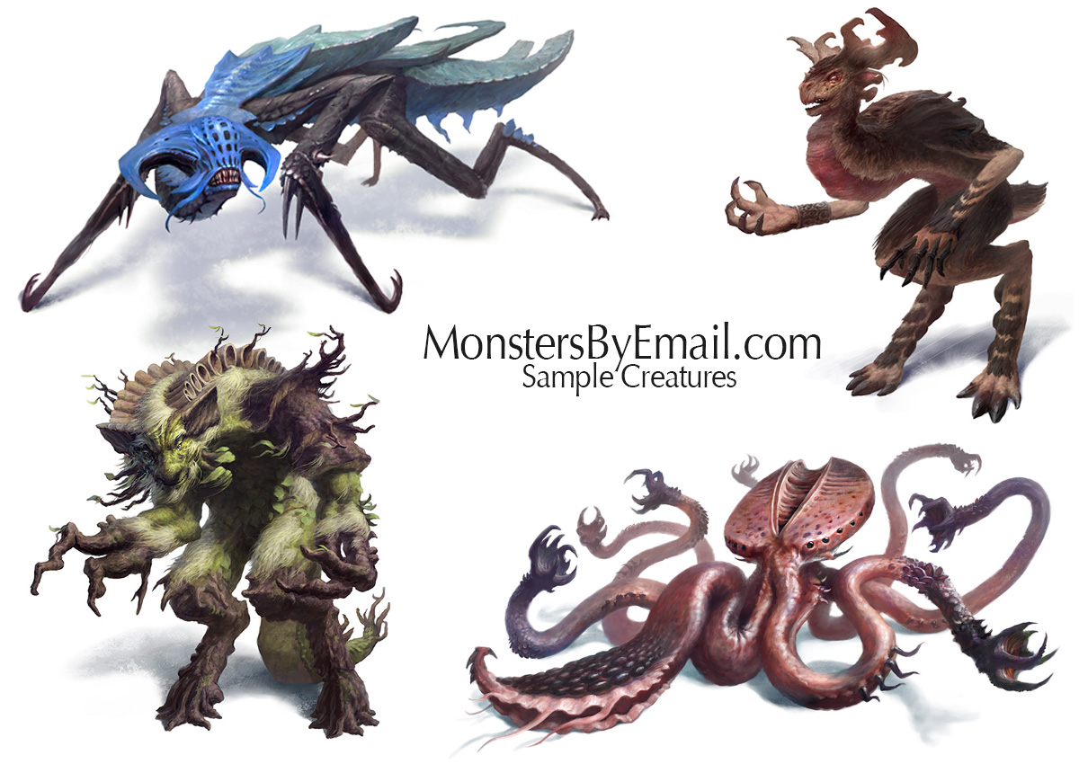 Creature Concepts by Cloister