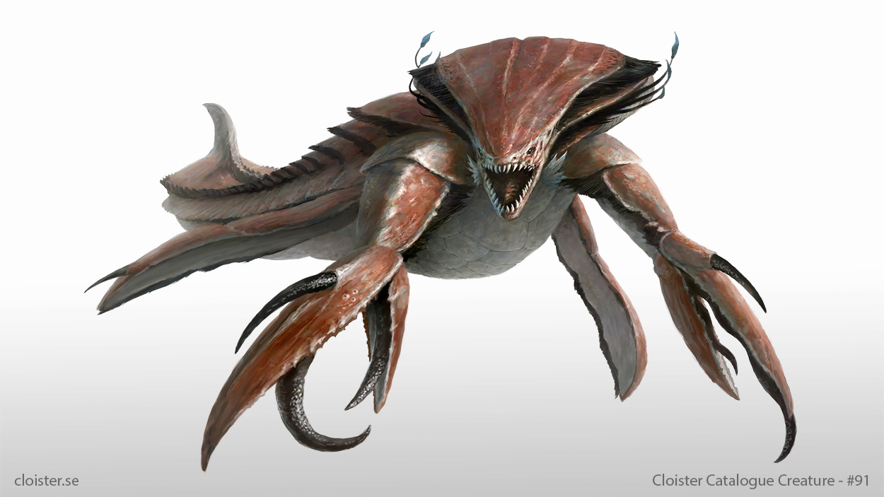 Nevianaar - creature concept by Cloister