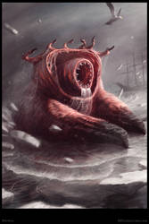 Bhorda Creature Concept - Poster by Cloister