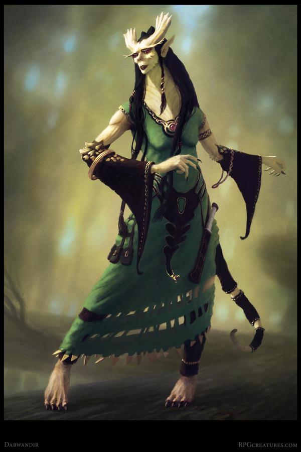 Darwandir Creature Concept - Poster by Cloister