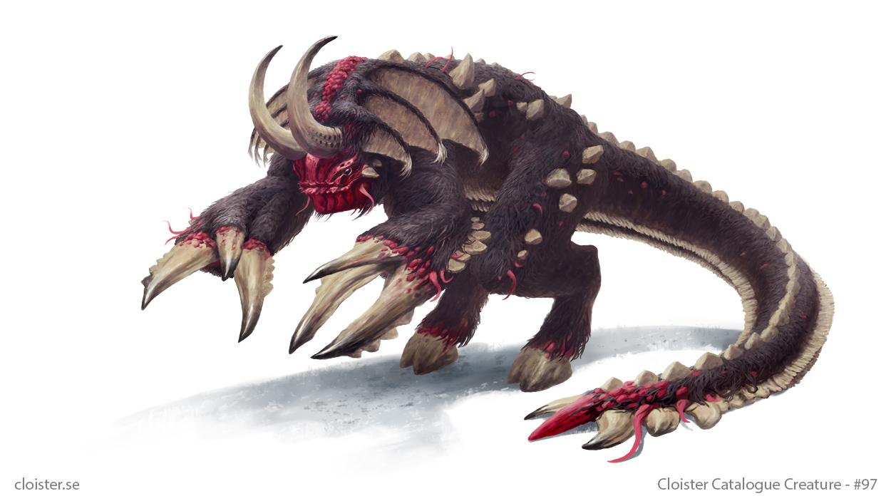 Neverenn - creature concept by Cloister