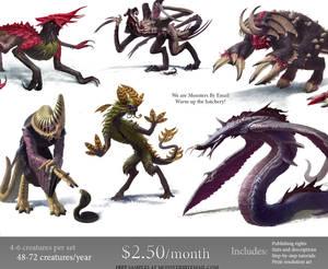 Awaken the Monsters!