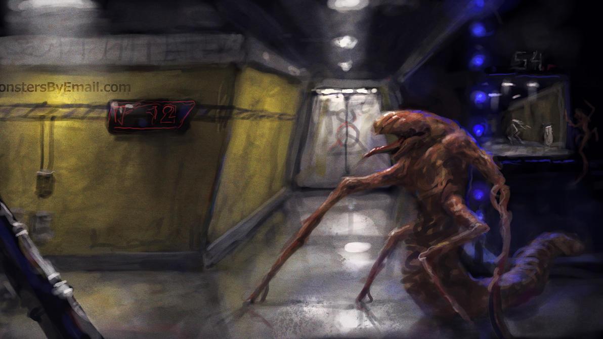 Sci-fi Horror speedy by Cloister