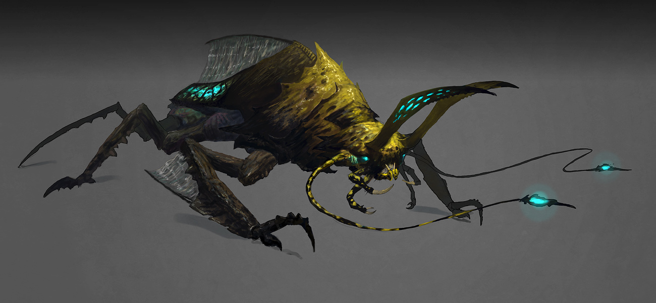 Soul Wrought Information Creature_concept_by_cloister-d5w5vhy