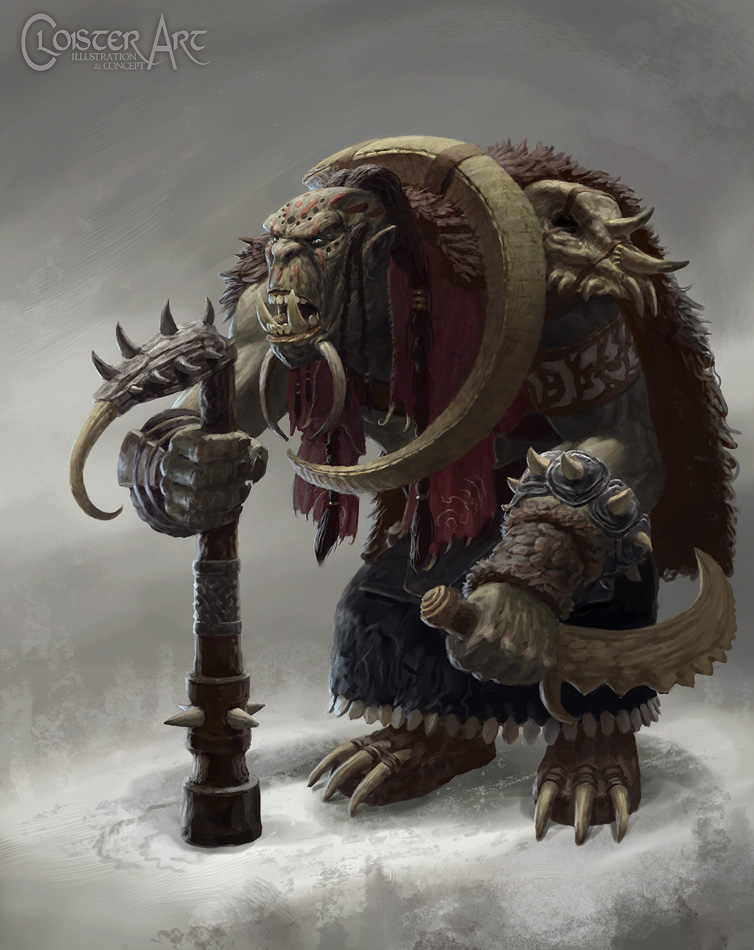 Orc Shaman by Cloister