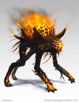 Othnorian Firewalker - creature concept