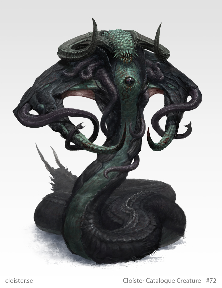 Nharmyth - creature concept by Cloister