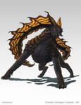Jehmorcha - creature concept