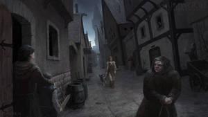 Grimwood Scene Illustration3