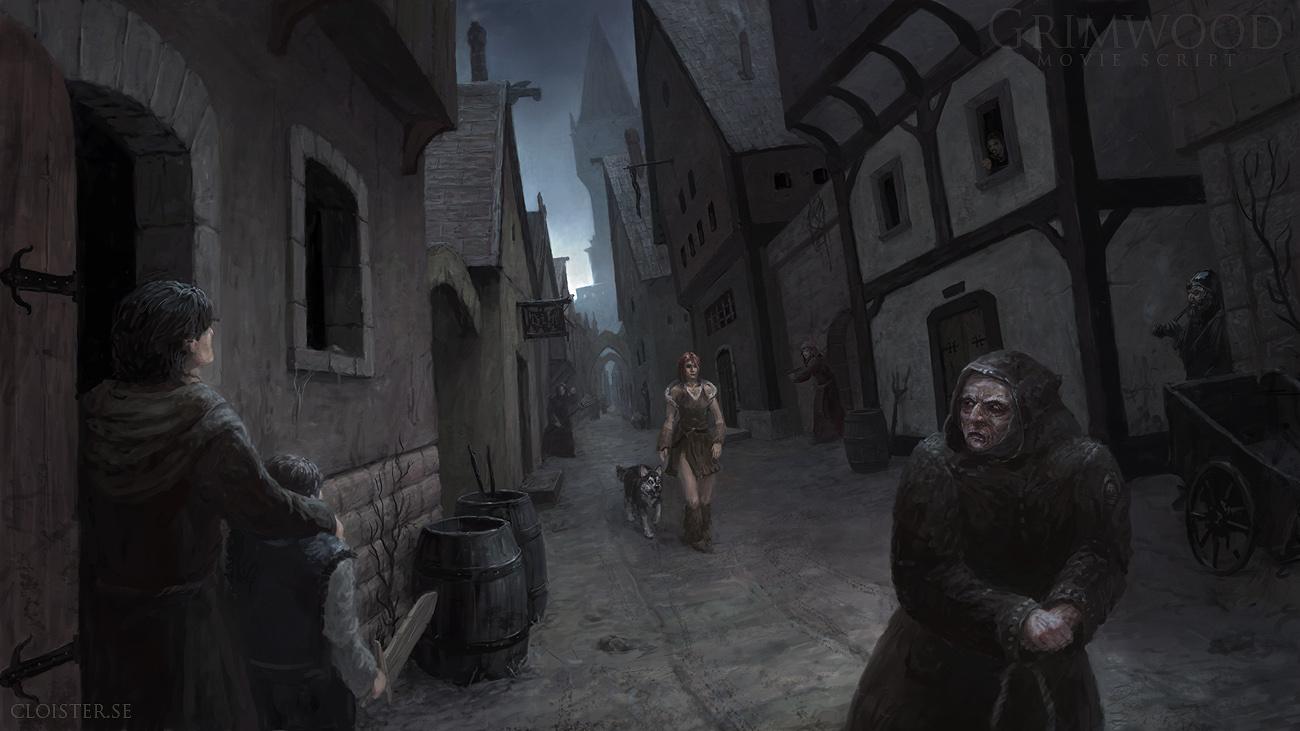 Grimwood Scene Illustration3 by Cloister