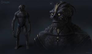 Alien Humanoid Concept