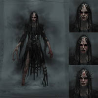 Horror Character Concept by Cloister
