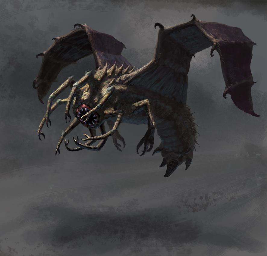 Eldrivore - Creature Concept by Cloister