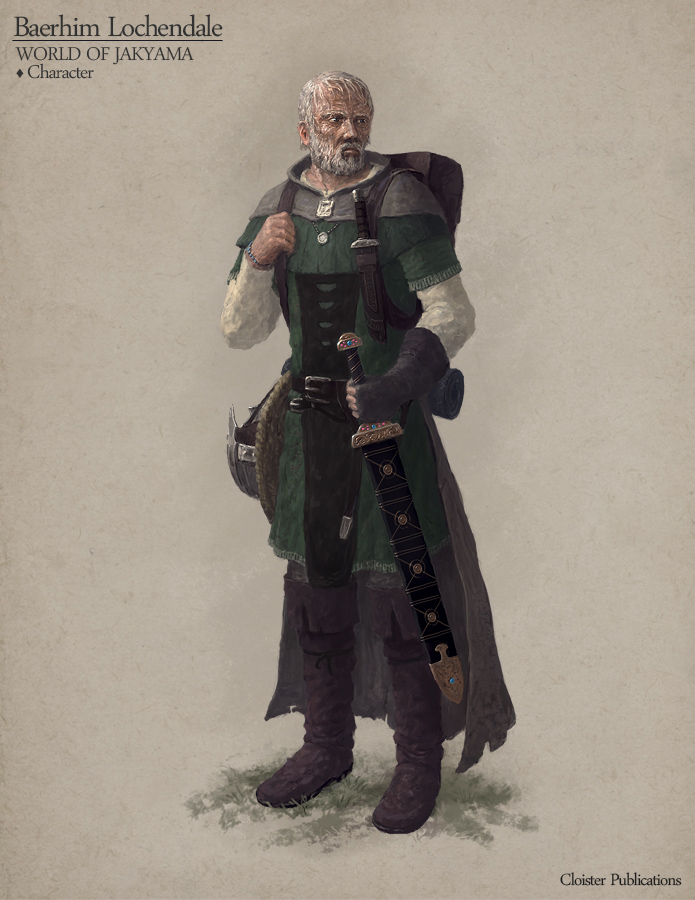 Baerhim Lochendale - Character concept by Cloister